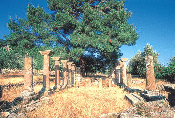 Early Christian Basilica of St. George at Halinado near the village of Agia Paraskevi - Lesvos island